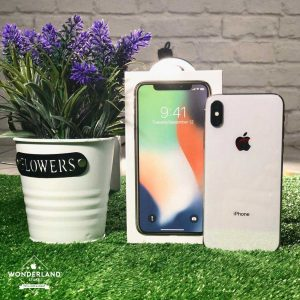 Second iPhone X Silver
