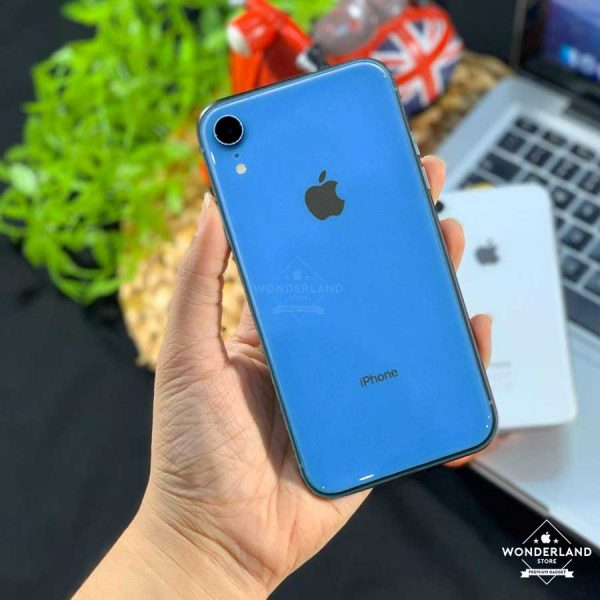 Second iPhone XR Blue