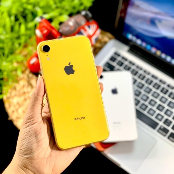 Second iPhone XR Yellow